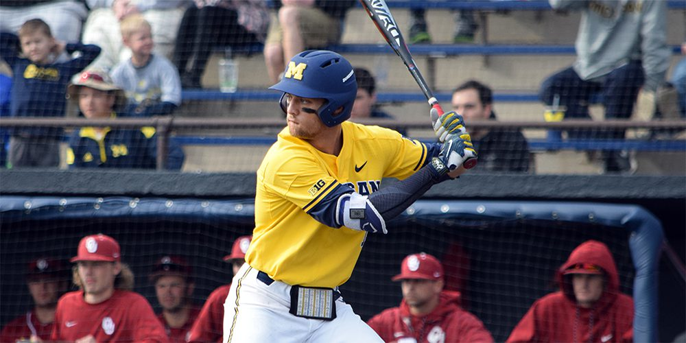 Michigan Completes Series Sweep of Oklahoma