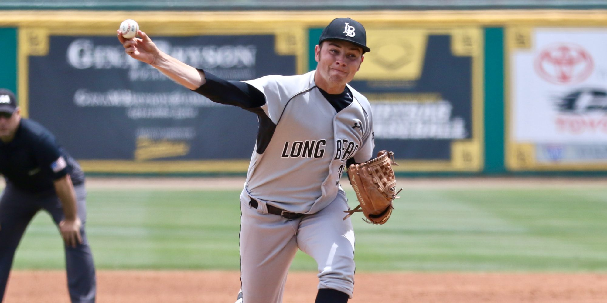 Gavin dominant for Titans in 12-0 win over Long Beach State