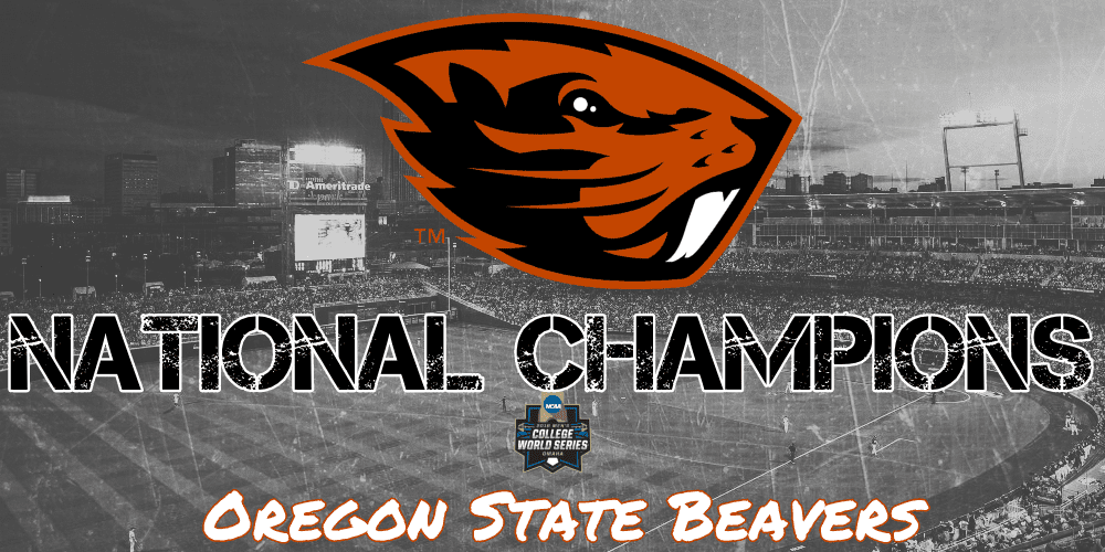 Oregon State Tops Arkansas to Claim the 2018 CWS Championship