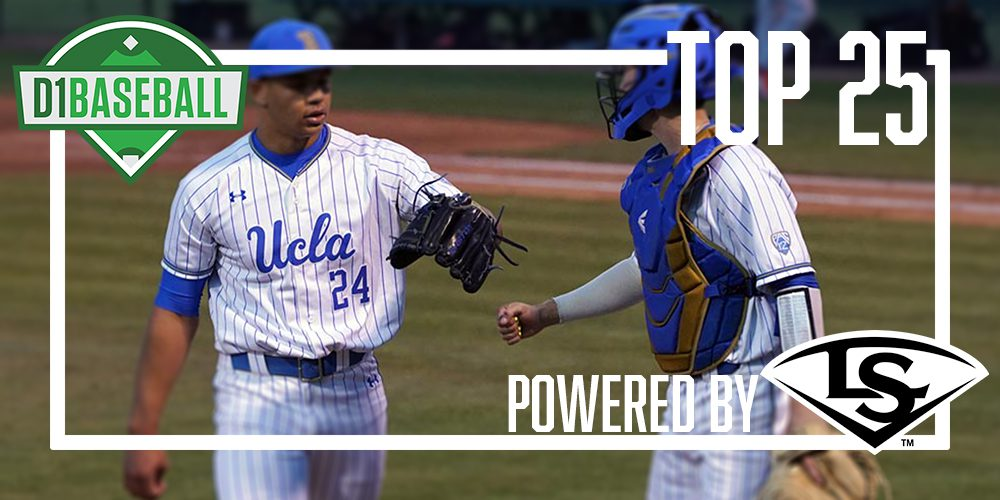 new product 8be54 6f126 D1Baseball Top 25: UCLA Takes Over No. 1 • D1Baseball