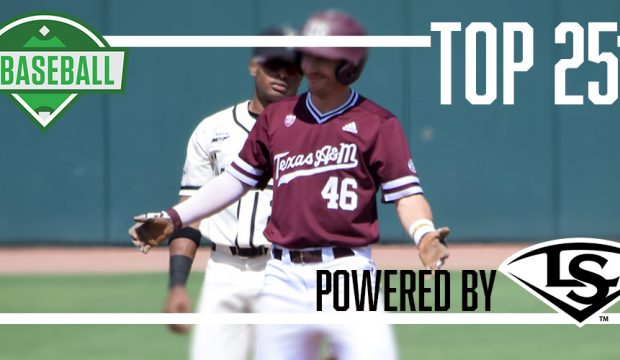 Texas A&M used a perfect week to move into the top 10 of the D1Baseball Top 25