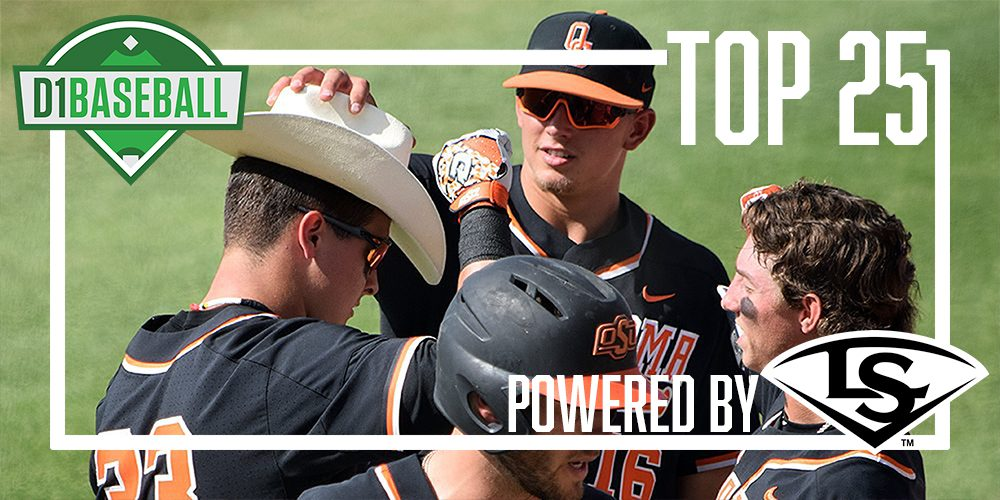 D1Baseball Top 25, May 6