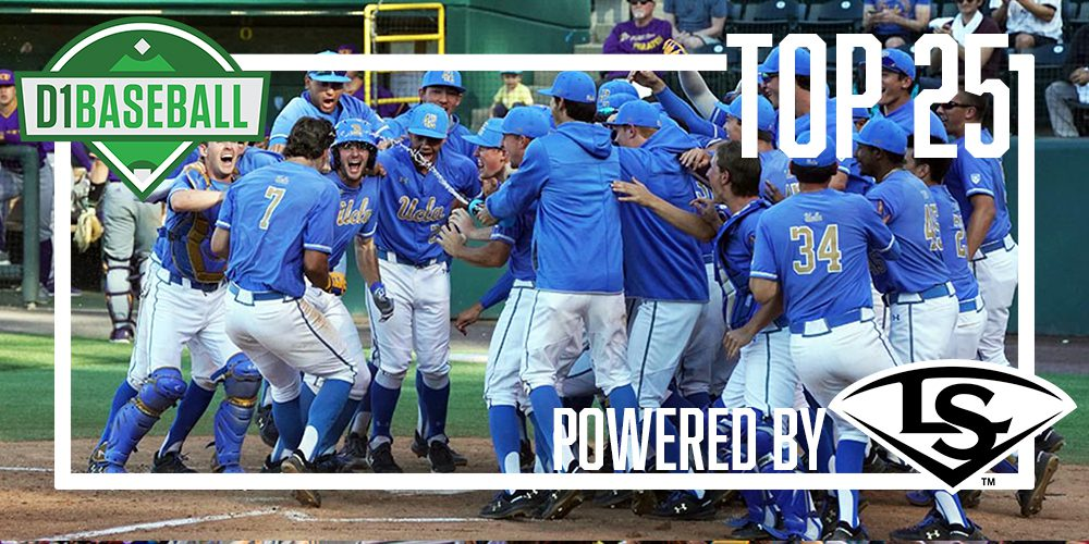 D1Baseball Top 25: UCLA Keeps Rolling • D1Baseball