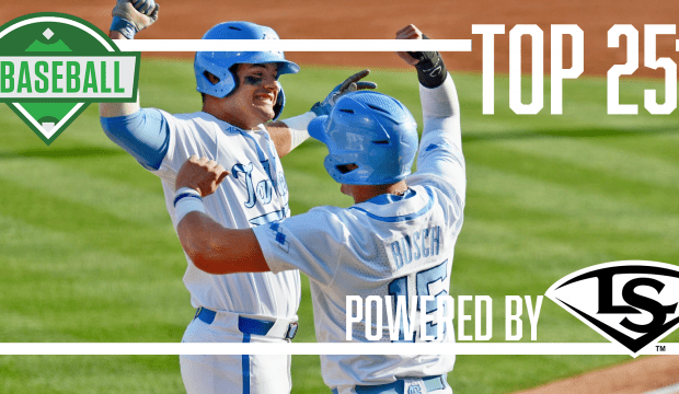 North Carolina moves up in the D1Baseball Top 25 for May 28