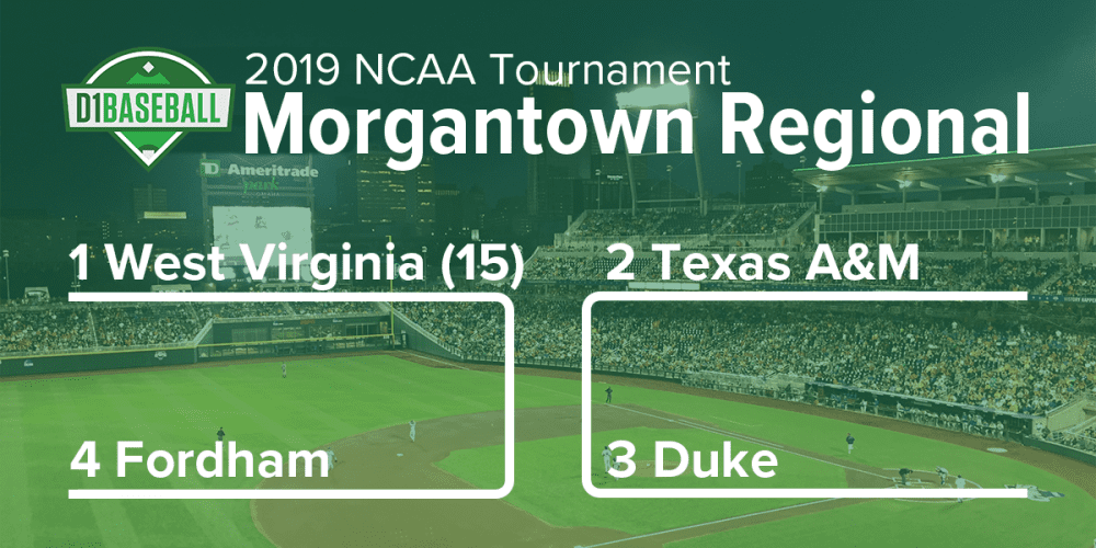 2019 NCAA Tournament: Morgantown Regional Preview