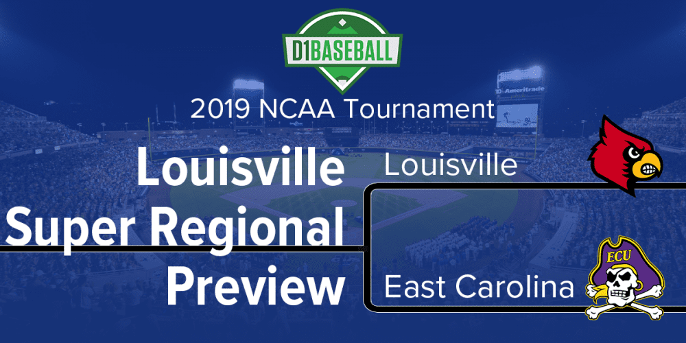 Louisville Super Regional: Louisville-East Carolina