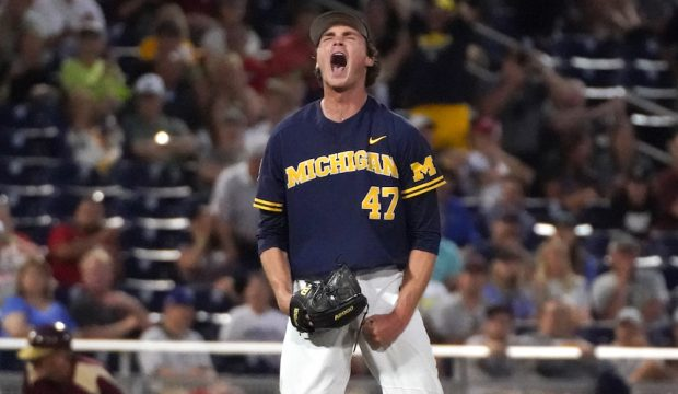 Tommy Henry - Michigan baseball stats   D1baseball com