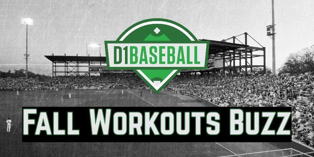Fall Workouts Buzz: October 16 • D1Baseball