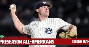 D1Baseball Preseason All-America Second Team-Auburn's Tanner Burns