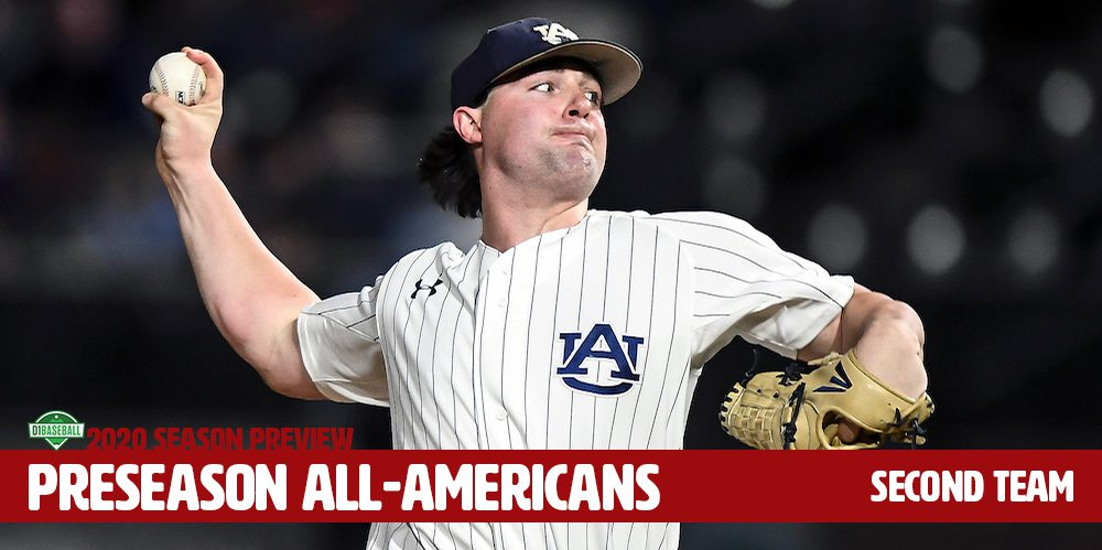 D1Baseball Preseason All-America Second Team-Auburn's Tanner Burns