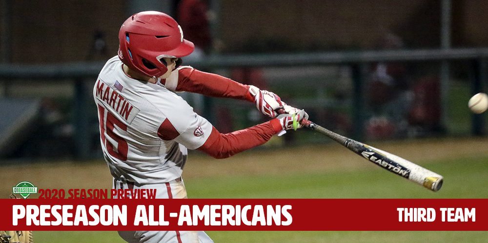 D1Baseball Preseason All-America Third Team-Arkansas' Casey Wilson
