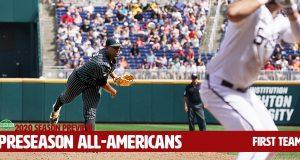 Preseason All-America First Team - Vanderbilt's Kumar Rocker