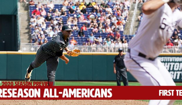 Preseason All-America First Team - Vanderbilt's Kumar Rocker