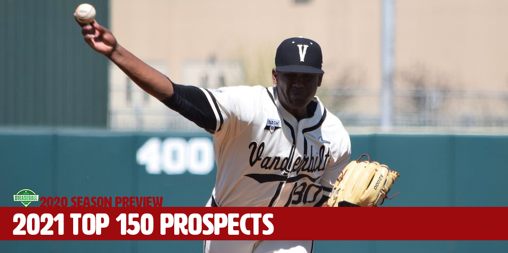 Best Mlb Prospects 2021 2021 Top 150 College Prospects • D1Baseball