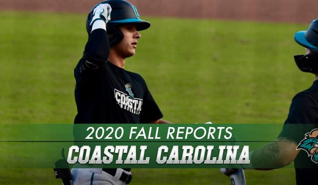 Coastal Carolina Fall Report 2020 Lede Graphic