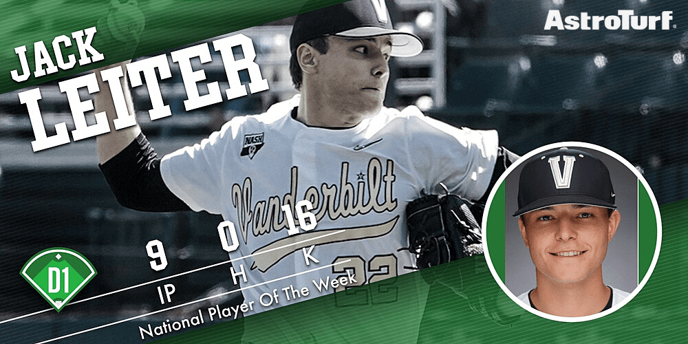 Jack Leiter - Player of the Week