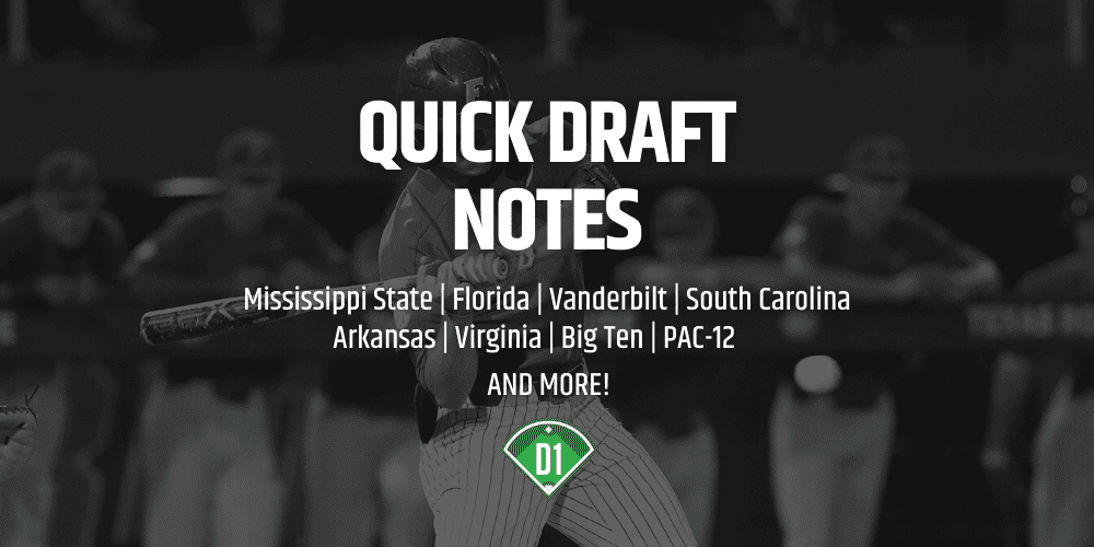 Quick Draft Notes