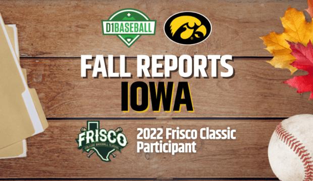 Iowa Fall Report